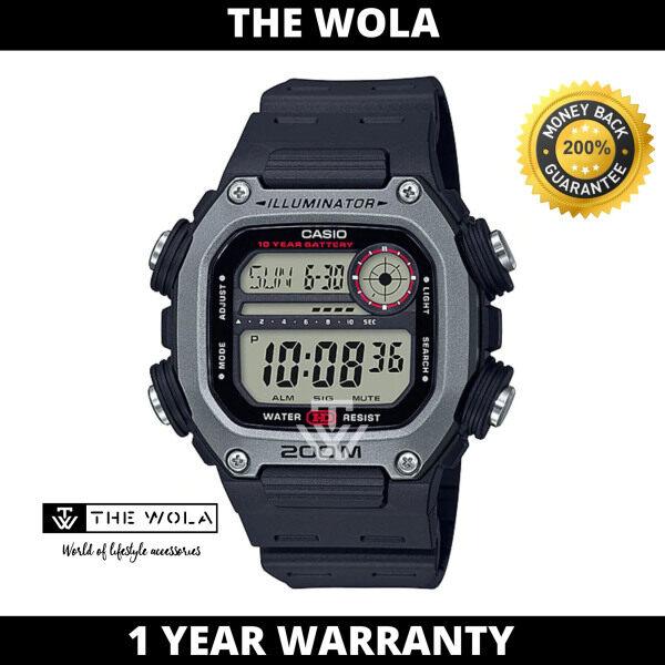 Casio Mens Digital DW-291H-1AVDF Black Resin Band Sport Watch (watch for man / jam tangan lelaki / casio watch for men / casio watch / men watch) Malaysia