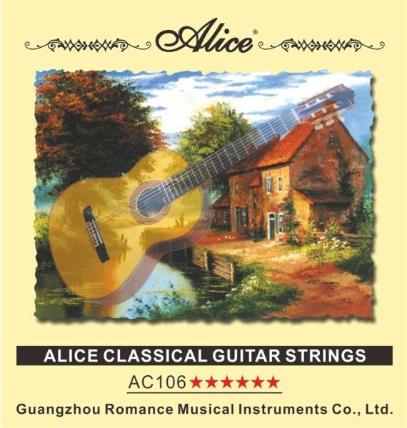 [READY STOCK] Alice Classical Guitar Set Strings (A106) Malaysia