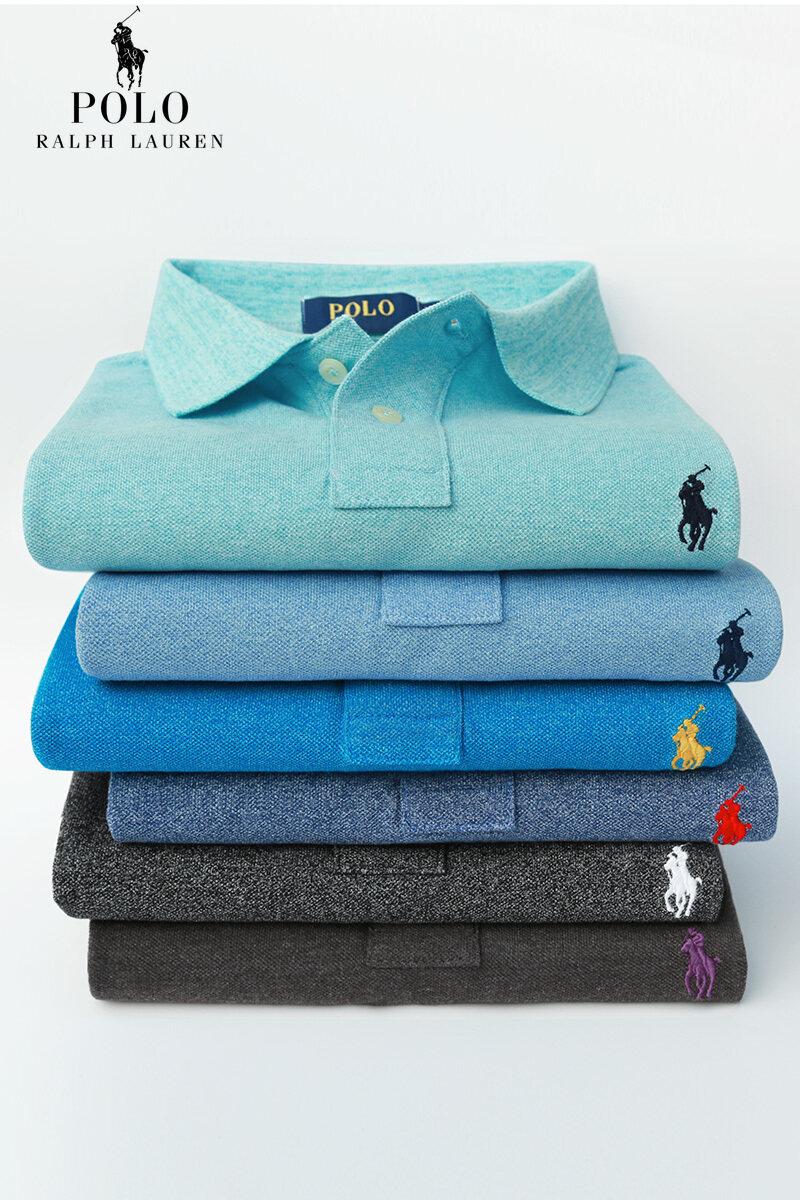 Áo sơ mi polo cổ bẻ 6 màu Ralph Lauren cho nam, áo ngắn tay có ve áo, in hình bông tuyết công sở cao cấp, kiểu mới 2020, áo thun của bố
