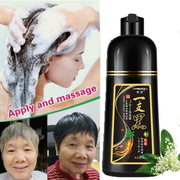 Buy White Hair Into Black Fast black hair shampoo Only 5minutes towish-White Hair in Singapore
