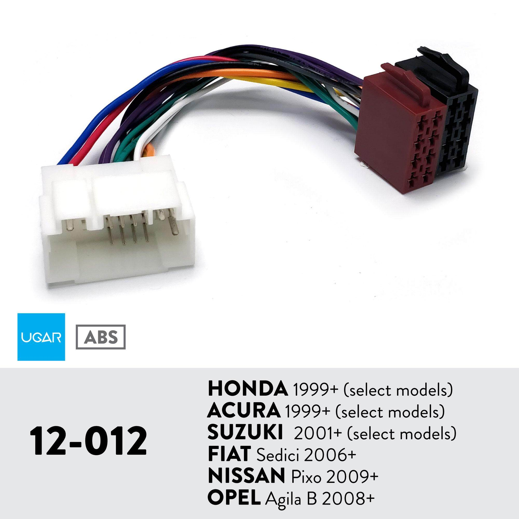 Select Models // Daihatsu 1985+ UGAR 12-900 Harness for Toyota 1984+ Select Models // Lexus 1991+ Select Models