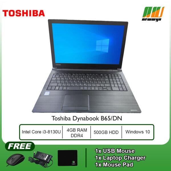 (Refurbished Notebook) Toshiba Dynabook B65/DN - Intel Core i3-8130U / 4GB RAM DDR4 / 500GB HDD / WIN 10 PRO Malaysia