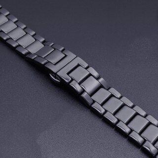 Gốm Dây Đeo Đồng Hồ Đeo Tay Cho Samsung Galaxy Watch3 45Mm Gear S3 Frontier 46Mm 3 46 22 Mm Vòng Đeo Tay Huawei Đồng Hồ GT 2 Dây Đeo GT2 thumbnail