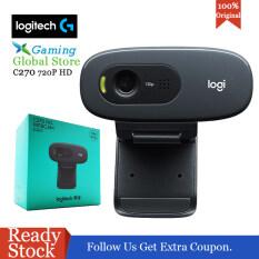 Logitech HD 720P Màn Hình Rộng Video Webcam Máy Tính Xách Tay PC Camera Để Gọi Và Quay Video (C270/C270i)