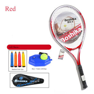 Vợt Tập Tennis Đơn Vợt Dây Nylon Cao Cấp Tập Luyện Cho Người Lớn Trẻ Tay Cầm Chống Sốc Với Thiết Bị Đào Tạo thumbnail