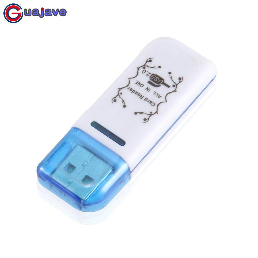 Guajave 4 Trong 1 Đầu Đọc Thẻ USB 2.0 Đa Năng SD TF MS M2 Độc Giả cho MÁY TÍNH Máy Tính Bảng Laptop máy tính