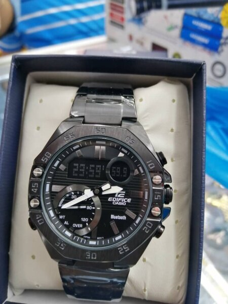 Blue Moon Valley Casio_Edifice Efr 556 Leather Strap Fashion Men Watch All Function Malaysia