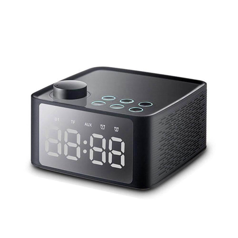 Nơi bán Bumblebaa năng Đồng Hồ Báo Thức Đài FM Loa Bluetooth Nghe, USB Sạc Nhanh Cổng, Nhiệt Độ Trong Nhà