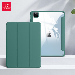 Xundd Protective Tablet Cover For iPad Pro 12.9 2021 2020 2018 Case Leather Transparent Cover Shockproof Bumper Tablet Case thumbnail