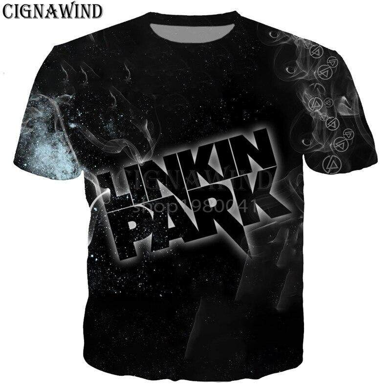 8e2345af666a94 New summer tops fashion t shirt men/women Rock band Linkin Park 3D printed  t-shirts casual hip hop style tshirt streetwear | Lazada PH