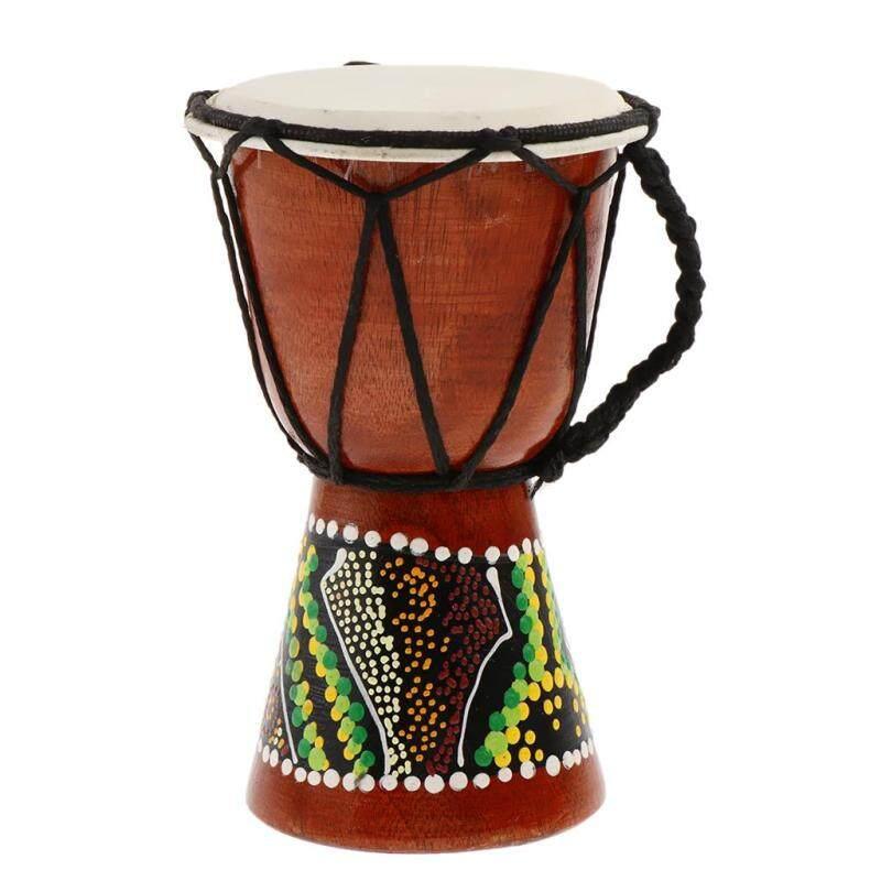 Trống Djembe Chuyên Nghiệp Châu Phi MagiDeal Bằng Gỗ Âm Thanh Tốt Nhạc Cụ