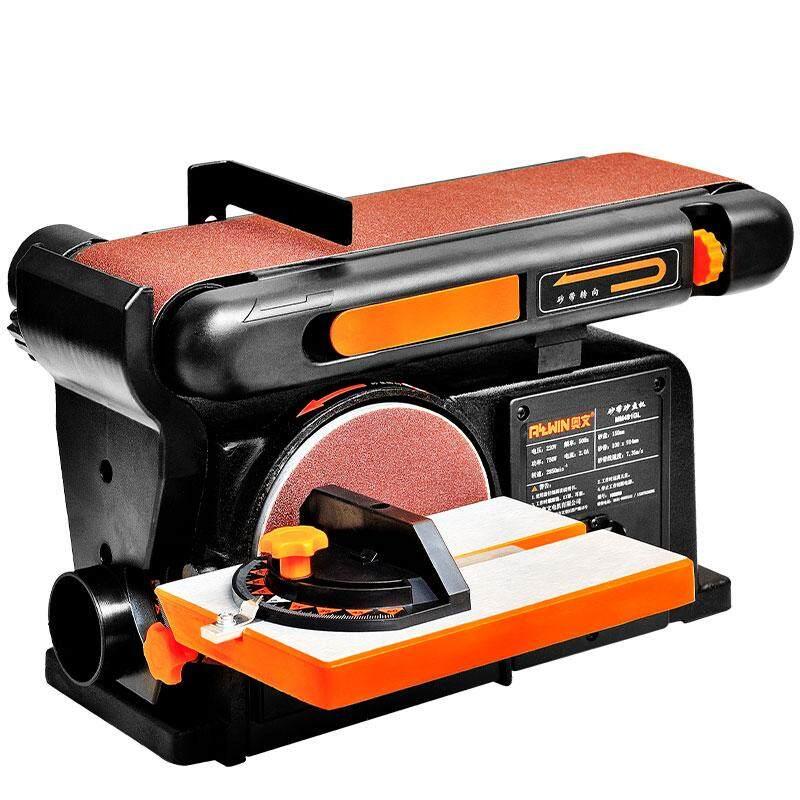 Multi-function desktop woodworking grinder, sanding machine, belt machine, polishing machine