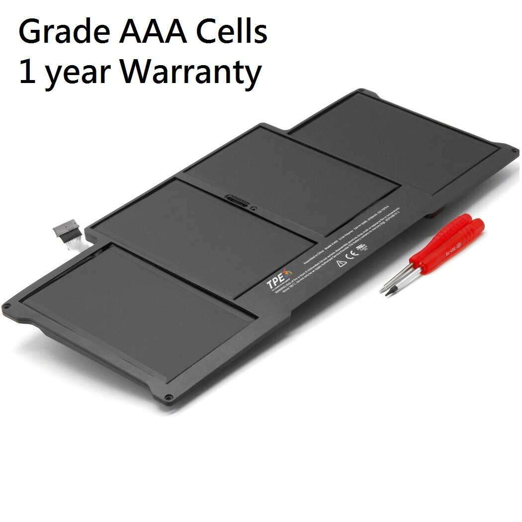 Grade AAA A1377 55Wh Battery For Apple Macbook Air 13   A1369 A1377 A1405 A1466 A1496 A1465 Malaysia