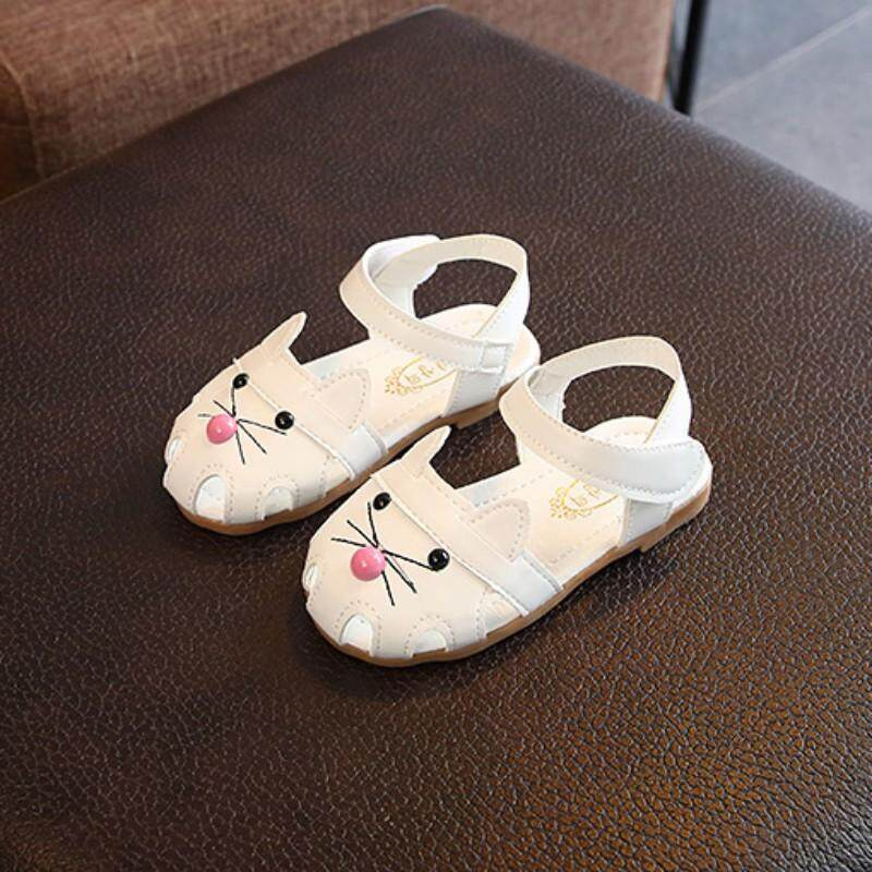 639365b8a12c Baby Girl Sandals Summer Baby Shoes PU Cartoon Fashion Baby Girl Shoes  Sandals