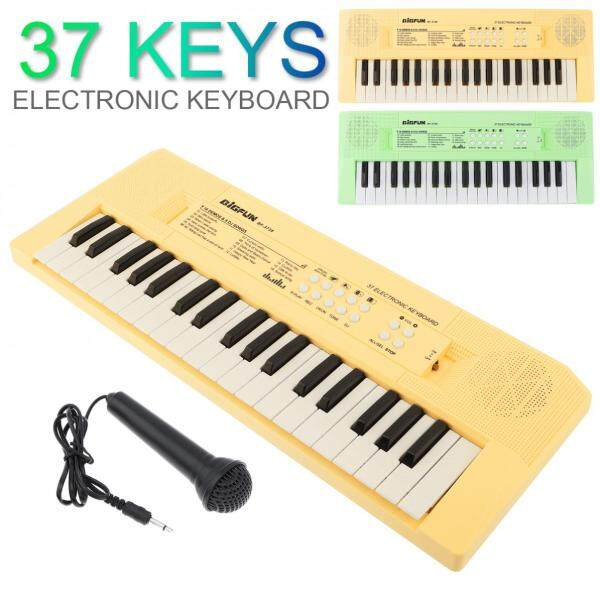 37 / 49 / 54 / 61 Keys Electronic Keyboard Piano Digital Music Key Board with Microphone Children Musical Enlightenment Malaysia