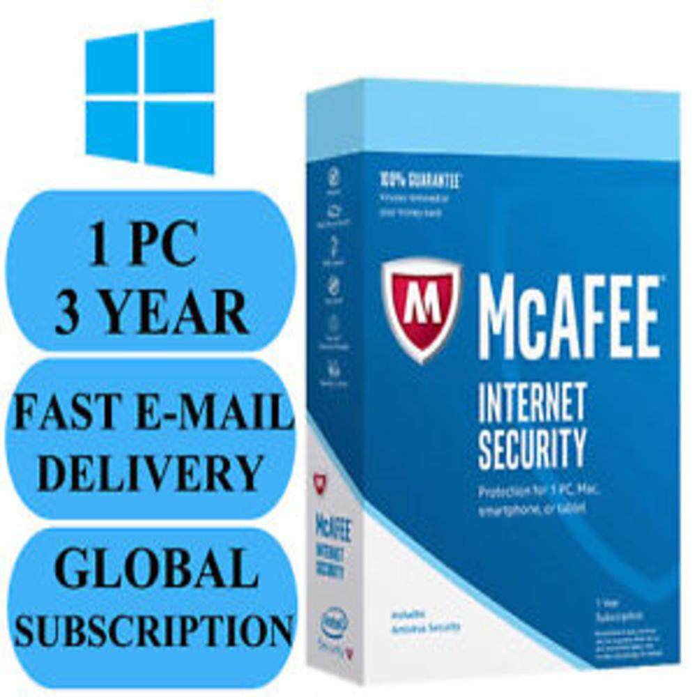McAfee LiveSafe 2019 For 3 years 1PC/Mac Download