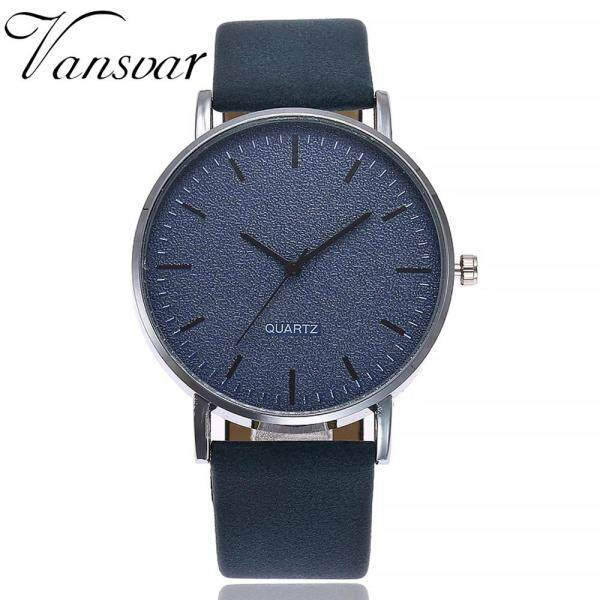 Watch for women sale original vansvar Womens Casual Quartz Leather Band Watch Analog Wrist Watch Malaysia