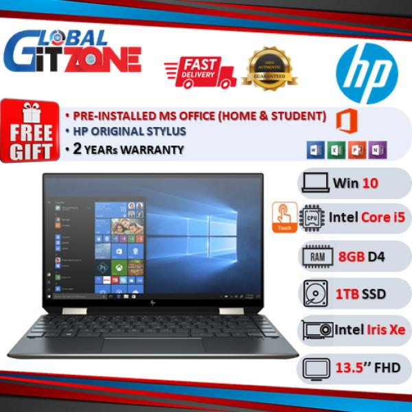 HP Spectre x360 14-ea0053TU 13.5 WUXGA+ Touch Laptop Poseidon Blue ( i5-1135G7, 8GB, 1TB SSD, Intel, W10, HS ) Malaysia