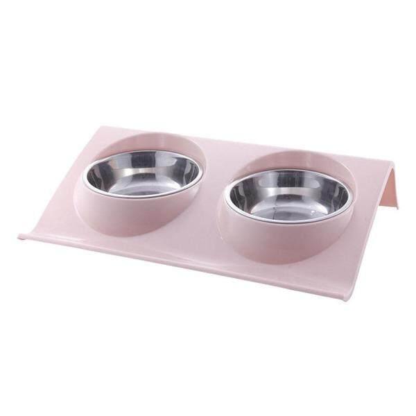 Sguai®Kép Bát Thiết Kế Đĩa Đựng Nước Thức Ăn Cho Chó Mèo Bằng Thép Không Gỉ, Pet Nguồn Cung Cấp