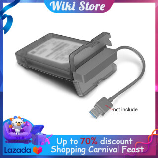 Wiki Hộp đựng ổ cứng SATA III USB 3.0 hộp bảo vệ cho HDD SSD 2,5 inch thumbnail