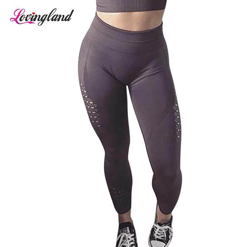 8b0dcfea3680 LD 1 Pcs Women High Waist Seamless Yoga Pants Leggings Stretchy for Running  Sports