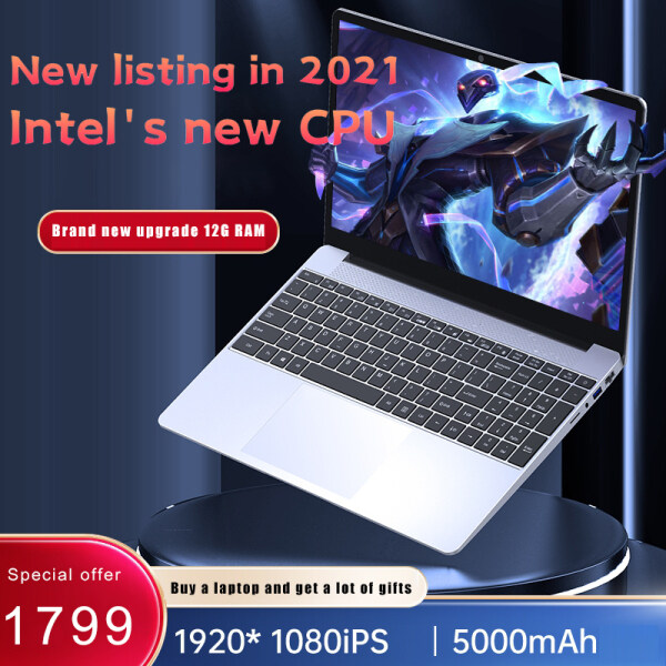 {New product special price}{Malaysia Shipment} Business office laptop,  2021 brand new laptop, N5100 RAM12G SSD256 w10 system, one-year warranty, free computer backpack and gaming mouse Malaysia