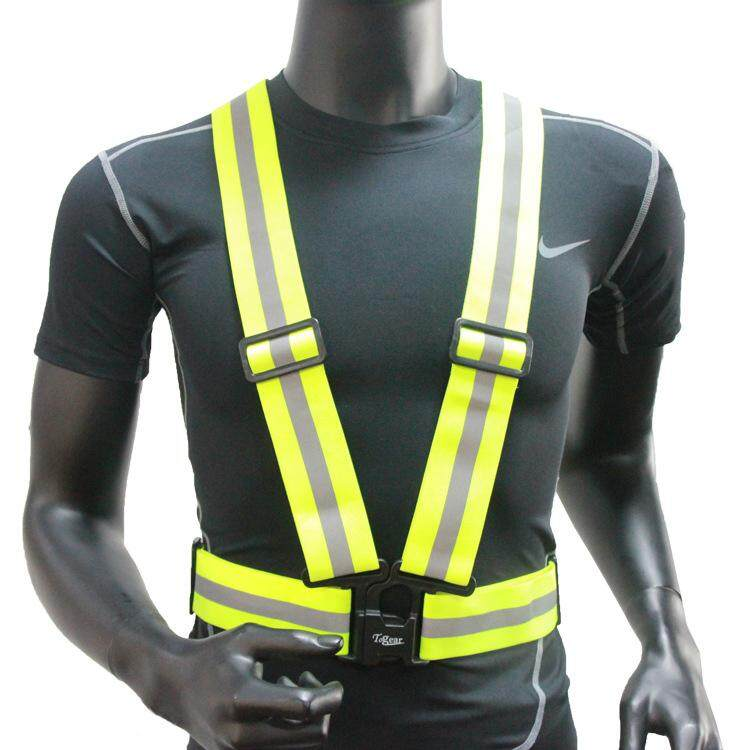 High Visibility Reflective Safety Vest Cycling Night Running Security Reflective Gear By Sharemay.
