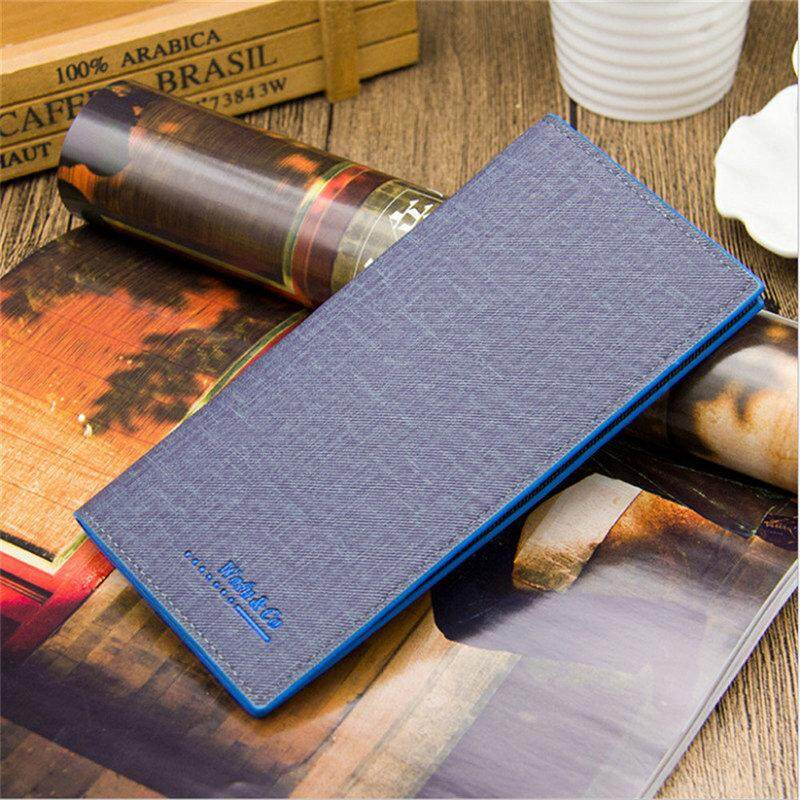 2019 Fashion Classic Man Wallet Genuine Leather Wallet male New Purse Clamp