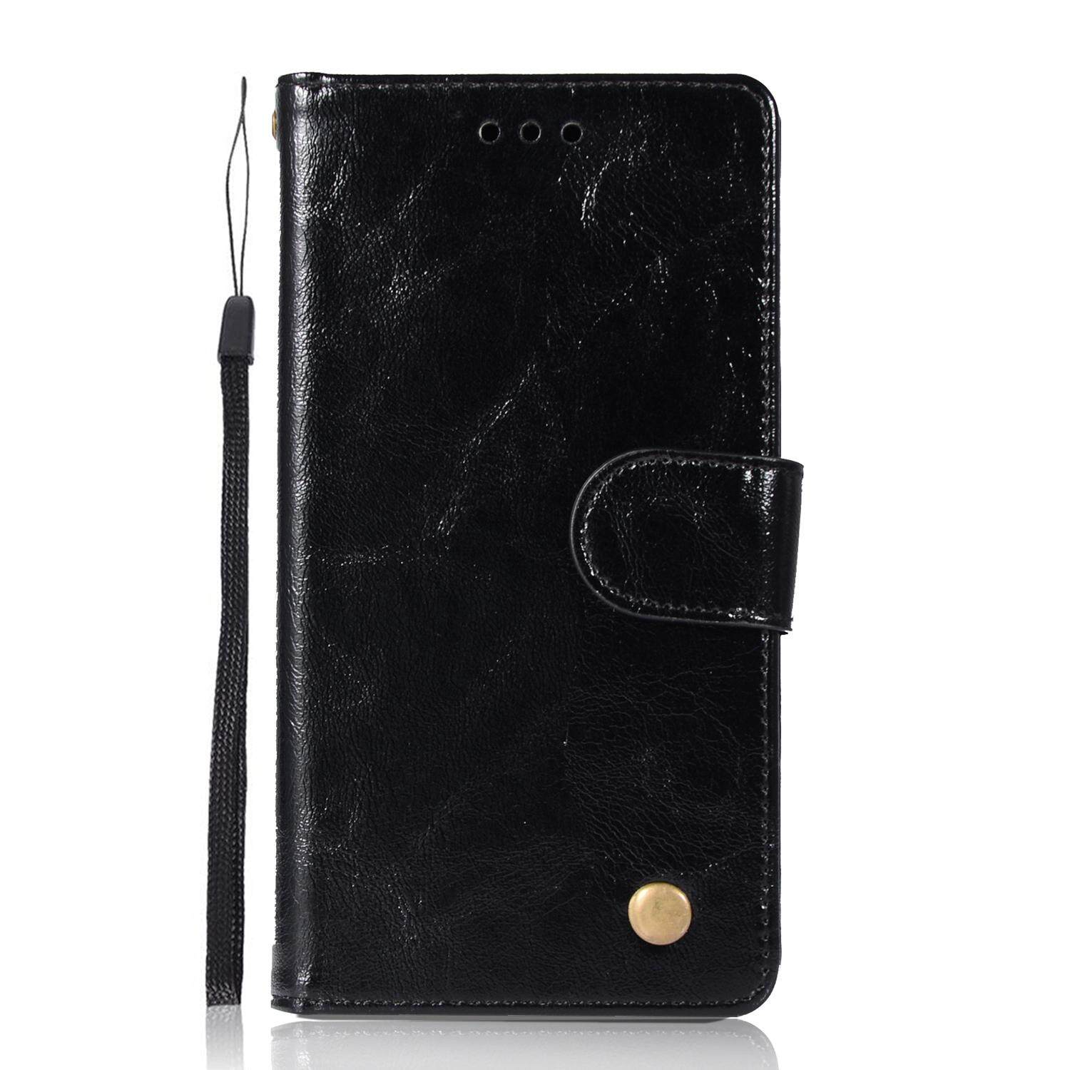Casing For Huawei P10 Lite,reto Leather Wallet Case Magnetic Double Card Holder Flip Cover By Life Goes On.