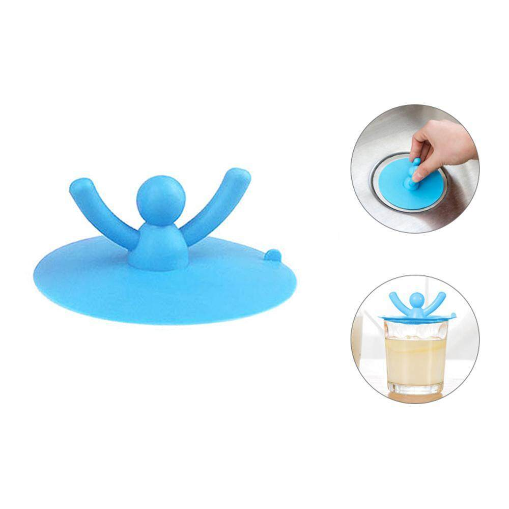 Kobwa Drain Stopper for Bathroom Sink Kitchen and Laundry Silicone Sink Plug Tub Drain Stopper Drain Plug Floor Drain Cover