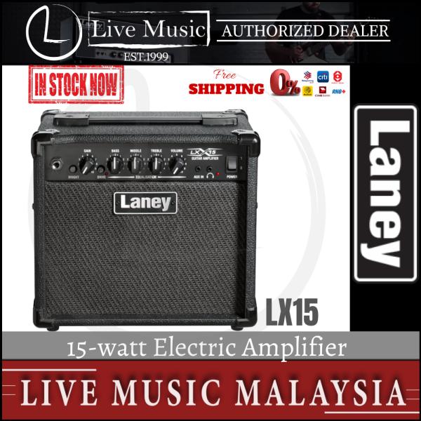Laney LX15 15 watt Electric Guitar Amplifier (LX-15/LX 15) Malaysia