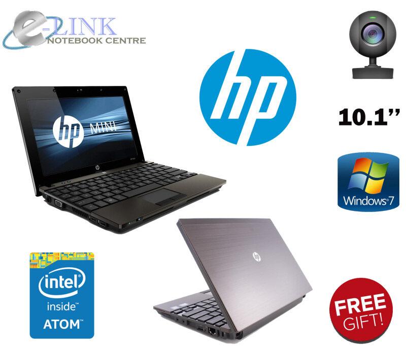 (REFURBISHED) HP Mini 5130 Notebook Intel Atom / 2GB RAM / 80GB HDD / WINDOW 7 PRO / 10.1 INCH SCREEN Malaysia