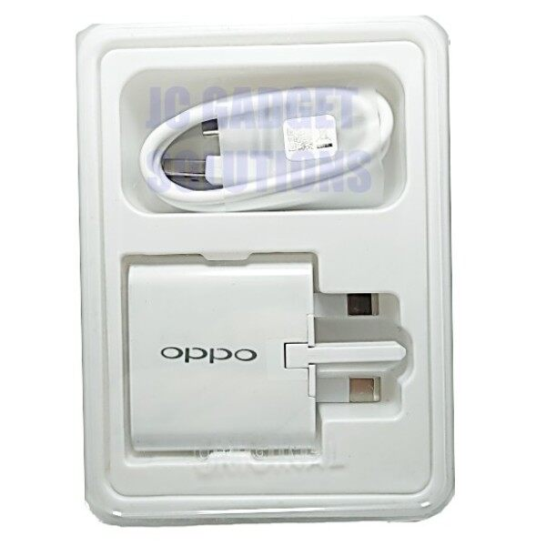 OPPO Vooc Qualcomm Charger 3.0A 100  ORIGINAL Adapter With Fast Micro USB Cable Malaysia