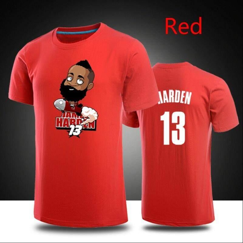 5db6d6ecc71 New James Harden Casual shirts Mens Womens Cartoon 3D t-shirt Basket ball  tshirts