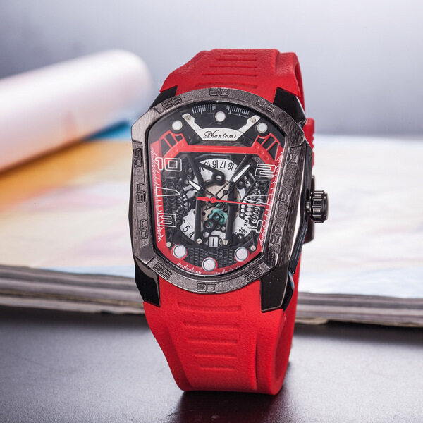 2020RM style mens watch personalized business hollow multifunctional watch birthday gift Malaysia