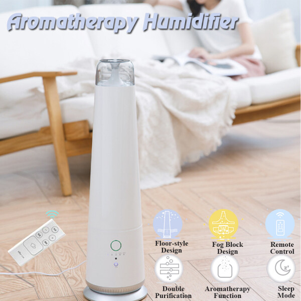 Bear 4.5L 30W 220V 50Hz Standard Aromatherapy Humidifier Remote Control Double Purification Singapore