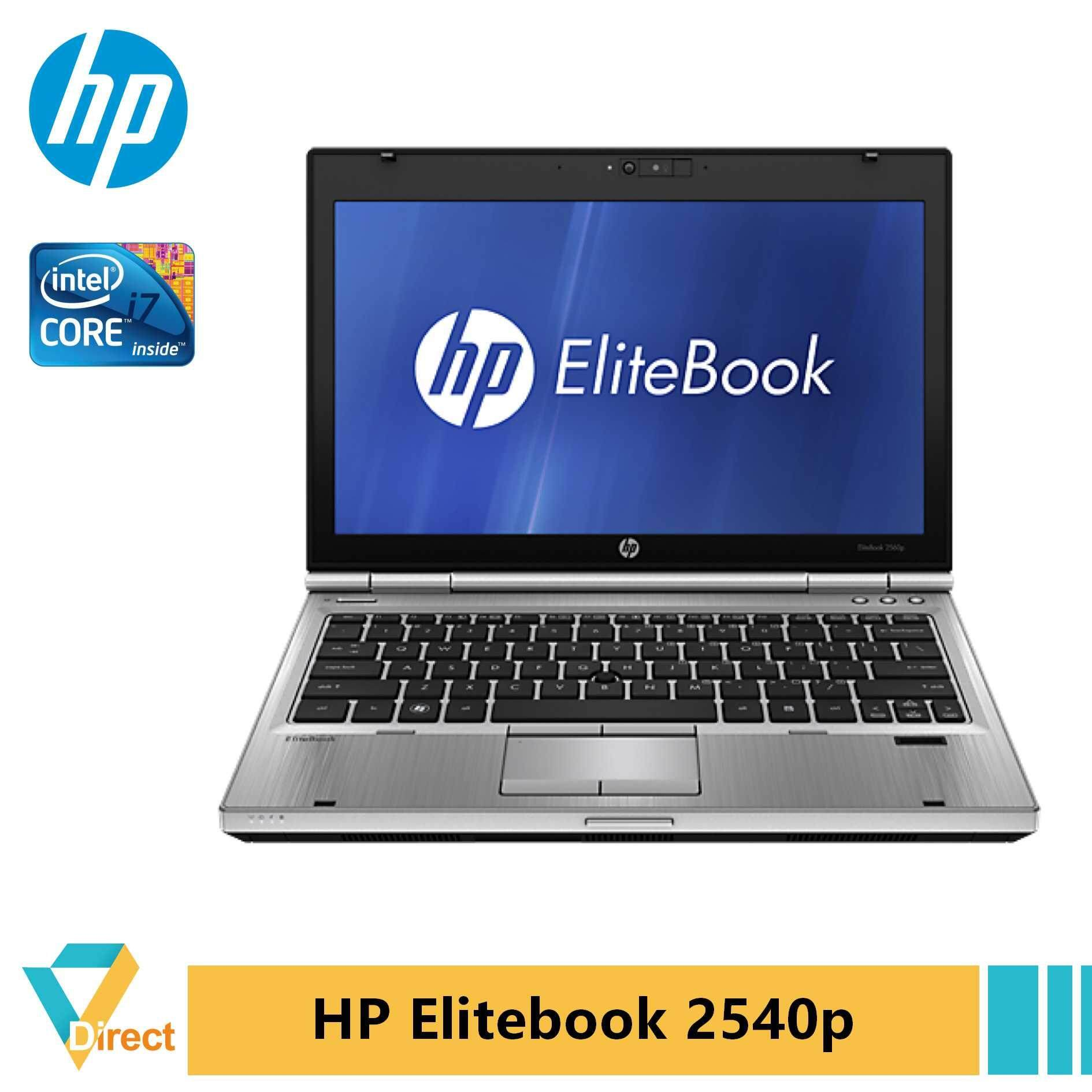 Core i7 8GB HP Elitebook 2540p ultra-portable laptop PC Malaysia