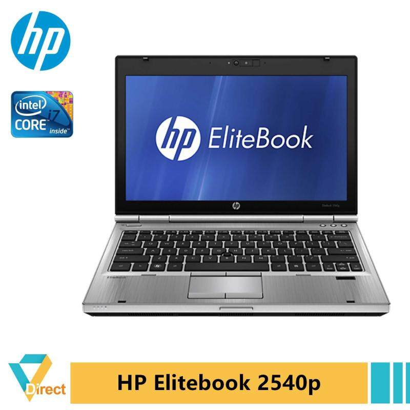 Core i7 8GB HP Elitebook 2540p ultra-portable laptop PC Malaysia