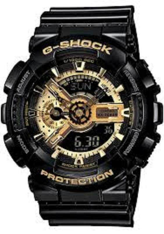 (READY STOCKY) Ge shock black &gold Malaysia