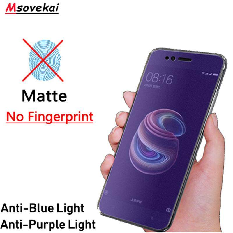 Matte Anti Blue Ray Tempered Glass For Oppo A1 Screen Protector Prevent Fingerprints,touch Sensitive, Premium Ultra Thin Films By Electronic Wholesale Store.