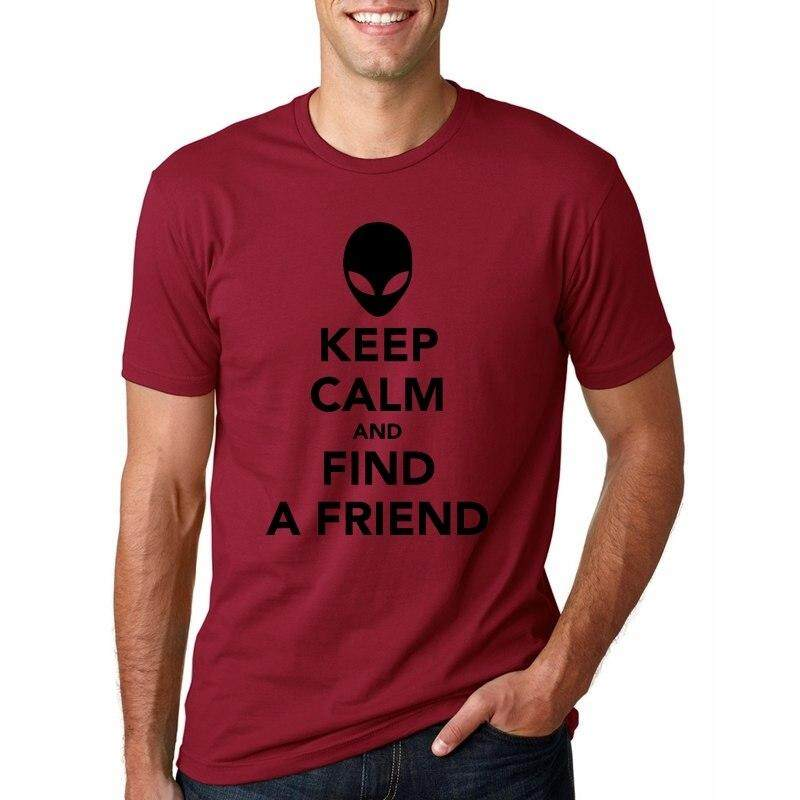 465873df7b05b Diy T Shirt Black Keep Calm Theyre Alien Ware Emoji Head Patterned Print T  Shirt Rock