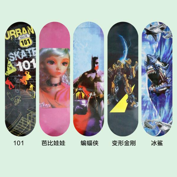 Mua Trẻ Em Của Bốn Bánh Xe Ván Trượt, Xe Tay Ga Hoạt Hình Hai Bánh Cho Trẻ Em, Người Mới Bắt Đầu Thanh Niên Skateboard