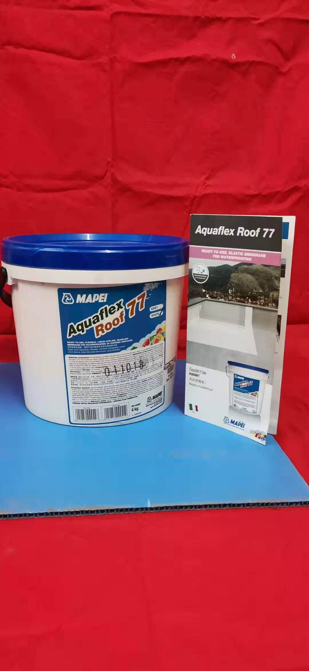 Aquaflex roof 77 (MAPEI) #waterproofing *Italy product* (4KG)