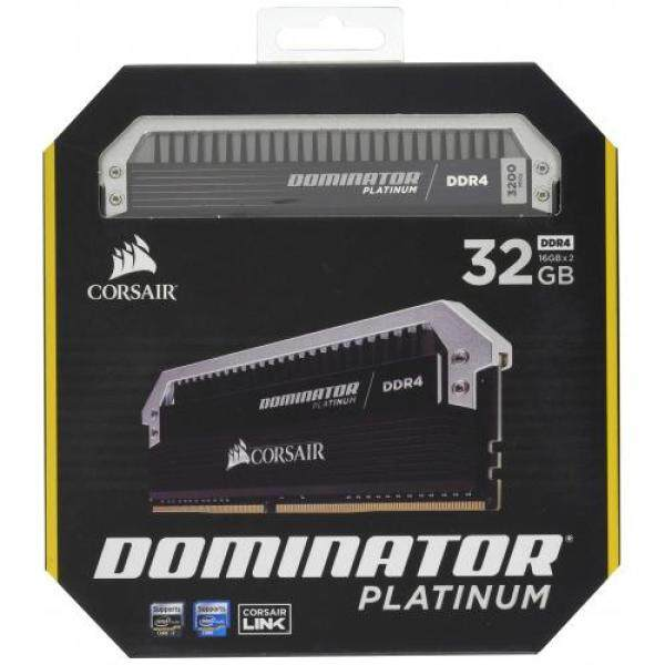 CORSAIR DDR4 memory modules DOMINATOR PLATINUM Series 16GB × 2 sheets kit CMD32GX4M2C3200C16 Singapore
