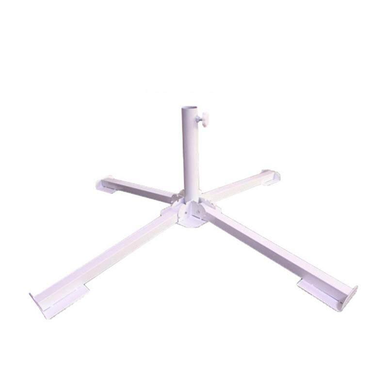 LEDMOMO Steel Foldable Umbrella Stand Portable Umbrella Holder Adjustable Sun Umbrella Anchor