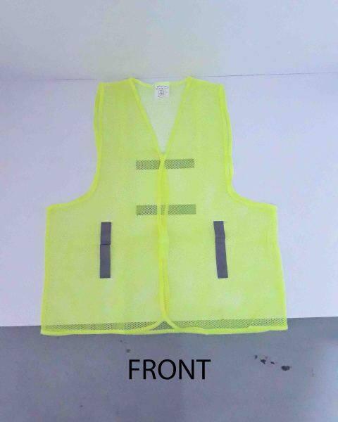 100% Polyester Reflective Light Duty Safety Vest for Construction Workwear