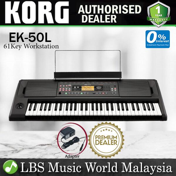 Korg EK-50 L 61 Arranger Key Entertainer Limitless Keyboard with 64 Voice Polyphony (EK-50L EK50 EK50L) Malaysia