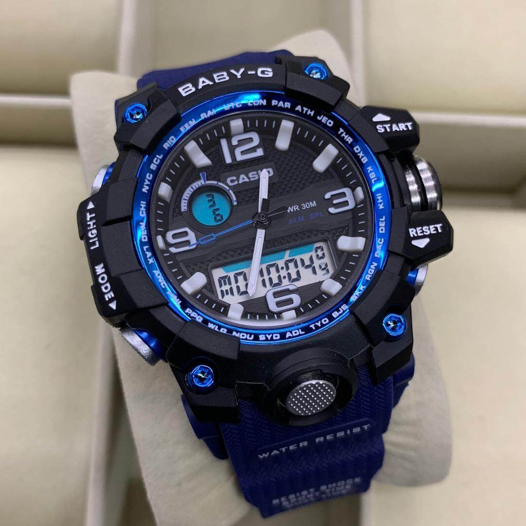 bd900dd3963 READY STOCK CASIO  BABY.G  DUAL WATCH FOR WOMEN S(mudmaster) SPECIAL  PROMOTION