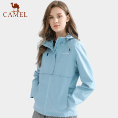 Camel Mùa Đông Áo Khoác Nữ Thời Trang Không Thấm Nước Áo Khoác Jacket Chống Gió Cho Phụ Nữ Áo Khoác Trùm Đầu Nữ