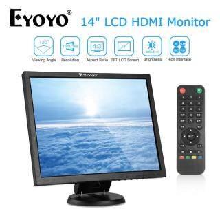 EYOYO Màn Hình Chơi Game Màn Hình 14 Inch 4 3 TFT 1024X768 BNC HDMI VGA AV Đầu Vào 300cd M2 thumbnail